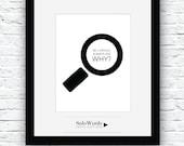 Be Curious, Printable Quote, Motivational Art, Curiosity Poster, Curiosity Printable, Curious Art, Typography Poster, Curiosity Decor