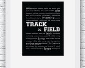 Track and Field Gifts, Track and Field Decor, Track Wall Art, Track Print,Track Digital Print,Track Coach Gift,Dorm Wall Art,Track Printable