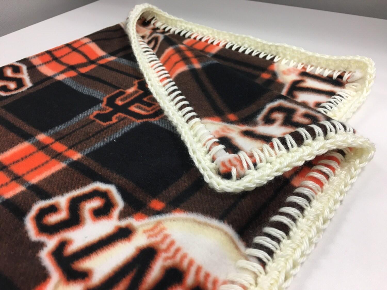 San Francisco Giants Fleece Baby Blanket Sf Giants Soft