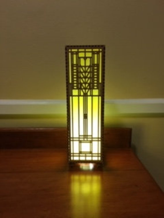 Frank Lloyd Wright accent Lamp