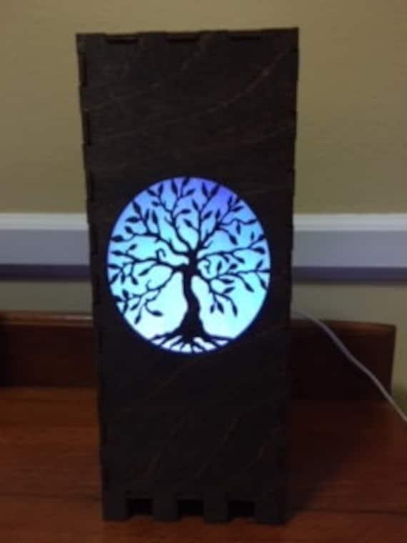 Tree of Life 10 x 4 Lamp
