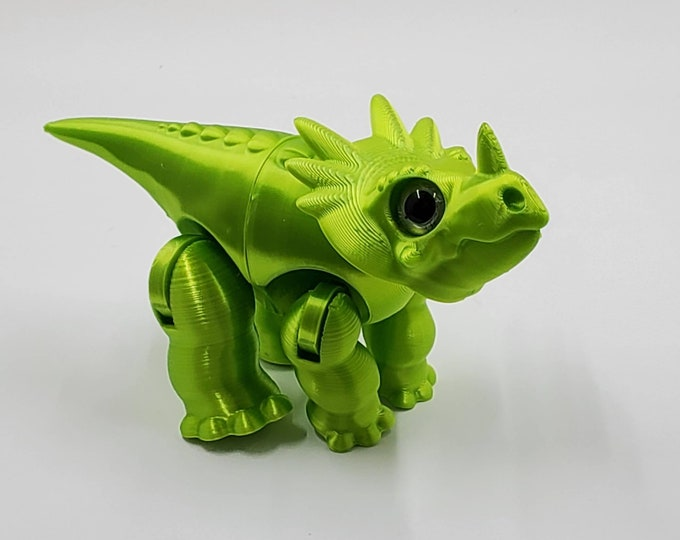 3DKToys Metallic Series Lil' Dino Pals! 9 Colors and 10 Species Available! Limited Series until Filament Runs Out.