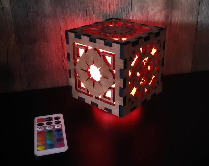 Hellraiser Light Color Changing Lantern / Hellraiser Puzzle Box / Horror Decor  Light / LeMarchand's Box / Puzzle Box / Light Box