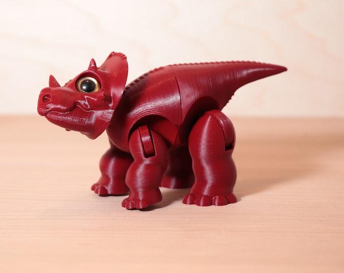 Utahceratops Dinosaur Toy 3dPrint! Dinosaur Figure - Lil' Dino Pals - Various Colors - 3d Printed Figures