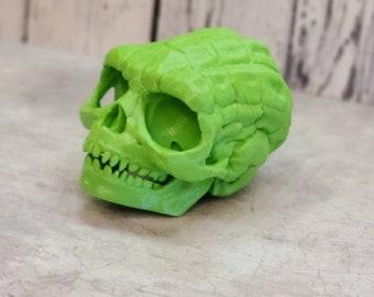 Wise Skull 3dPrint! Boneheads - 3d Printed Skull- 3d Printed Figures