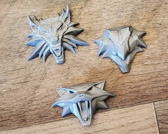 Witcher Pendant Set 3D FDM Printed