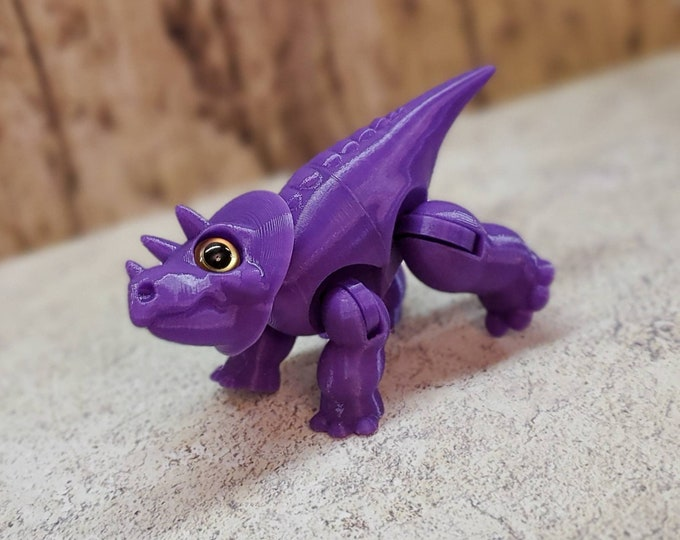 3DKToys Lil' Dino Pals: Triceratops 3d Print!