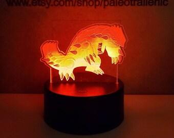 Custom Pokemon Inspired Color Changing LED Acrylic Light