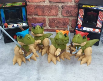 Boon inspired by Teenage Mutant Ninja Turtles! Designed by 3DKitbash!  Printed by PaleoTrailer!