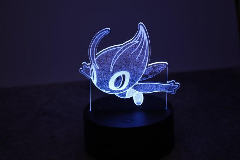 Custom Pokemon Night Light Color Changing with Remote Pokemon Decor Pokemon Gifts Pokemon Light