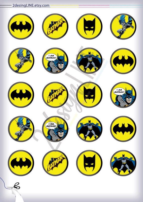 photo relating to Batman Cupcake Toppers Printable referred to as Batman Cupcake Toppers, Batman Birthday Decor - Printable Birthday Toppers, Batman Celebration Toppers, Batman Bash Favors - Prompt Obtain