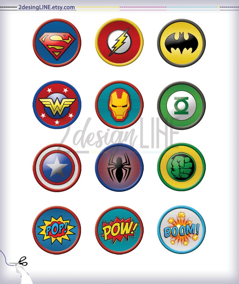 It is a graphic of Batman Cupcake Toppers Printable within thank you cupcake