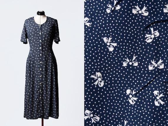 1990s rayon dress