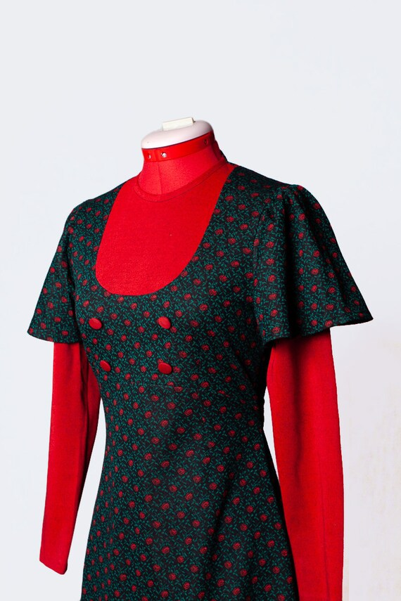 1960s knit mod dress - image 7