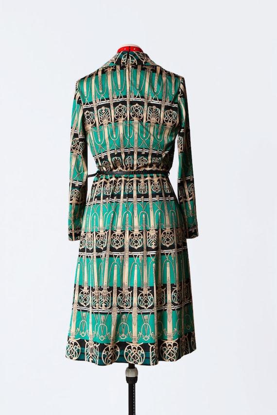 novelty print knit dress - image 8