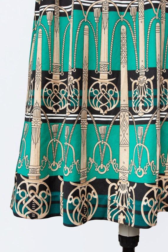 novelty print knit dress - image 4