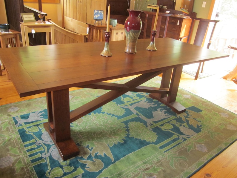 Varnish For Kitchen Table Top Adorable Hillcrest Dining Table 6234 10