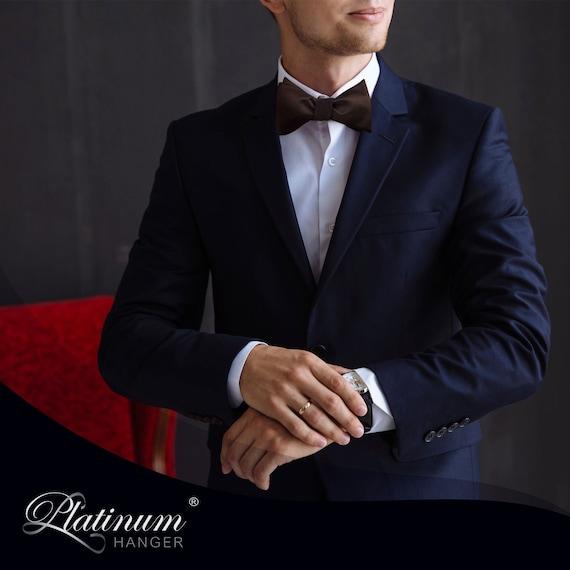 Classic Solid Color Men/'s Adjustable Pre Tied Formal Bow Tie Tuxedo Bowtie Ties