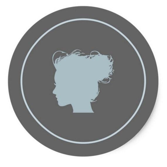"TheClosetDime: Classic 3"" Round Sticker"