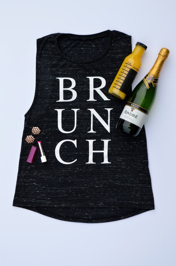 Brunch Tank: Black Marble