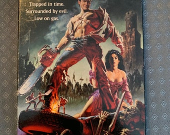 dc7f57f4 Army Of Darkness VHS Horror