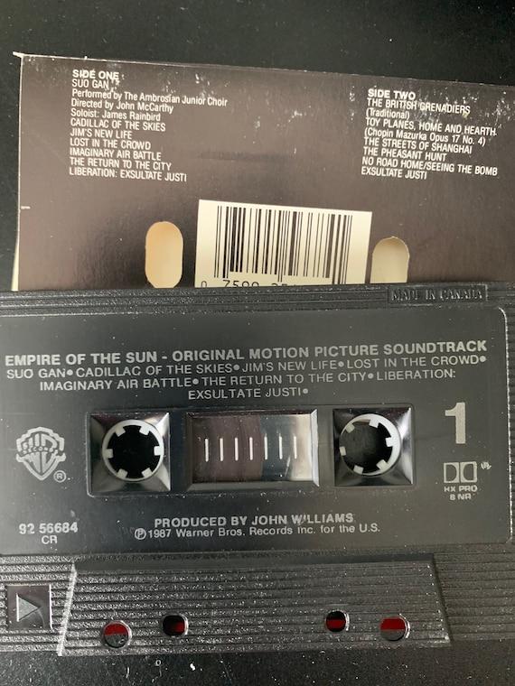 Empire Of The Sun Motion Picture Soundtrack Cassette Etsy