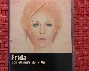 Frida Something's Going On Cassette Tape