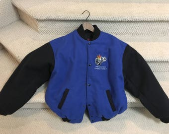 Hostess  Wool Covered Jacket Very Rare XXL