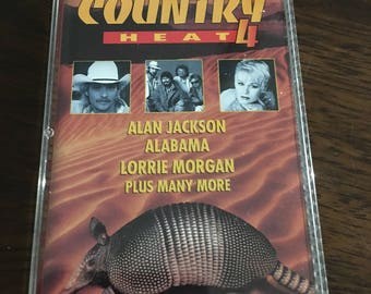 Country Heat 4 Cassette Tape