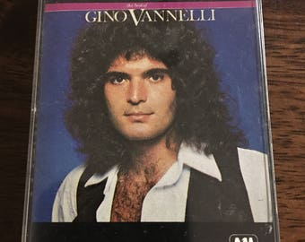 Gino Vannelli The Best Of Cassette Tape
