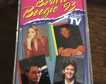 Born To Boogie 93 Cassette Tape
