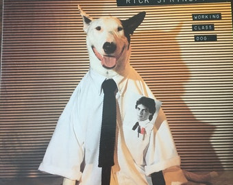 Rick Springfield Working Class Dog Record Lp