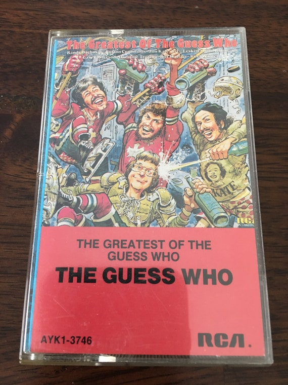 The Guess Who Greatest Hits Cassette Etsy