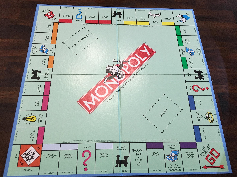 Jahrgang Monopoly Spielbrett wie neu | Etsy