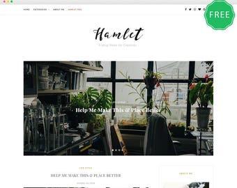 Hamlet Lite is a Beautiful WordPress blog theme.