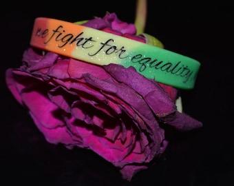 Rainbow Equality Bracelet :)