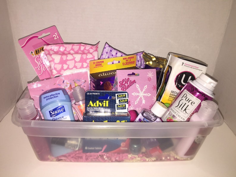 period starter kit- menstruation survival kit Mother to daughter gift period care box period package