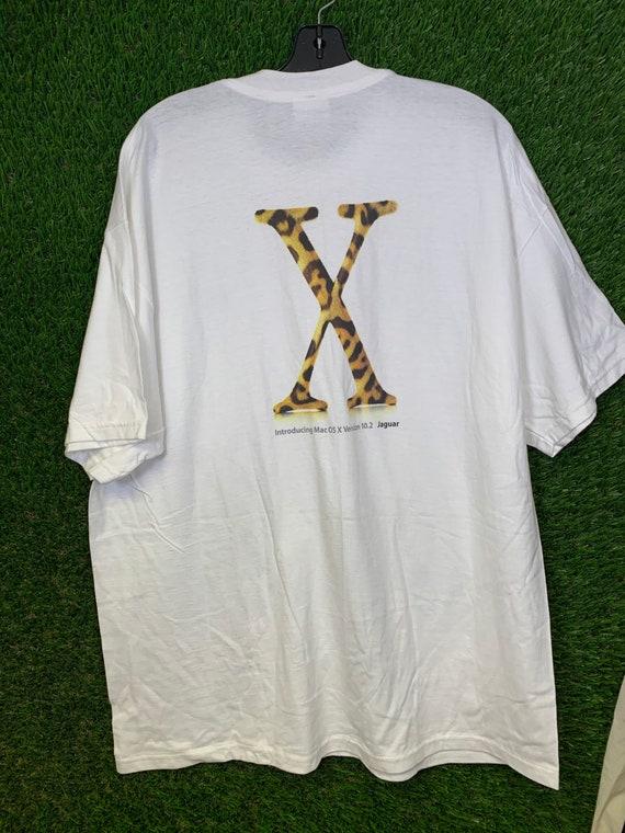 VINTAGE Apple OSX Jaguar T Shirt