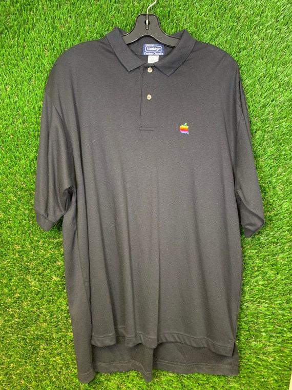 VINTAGE Apple Polo Shirt