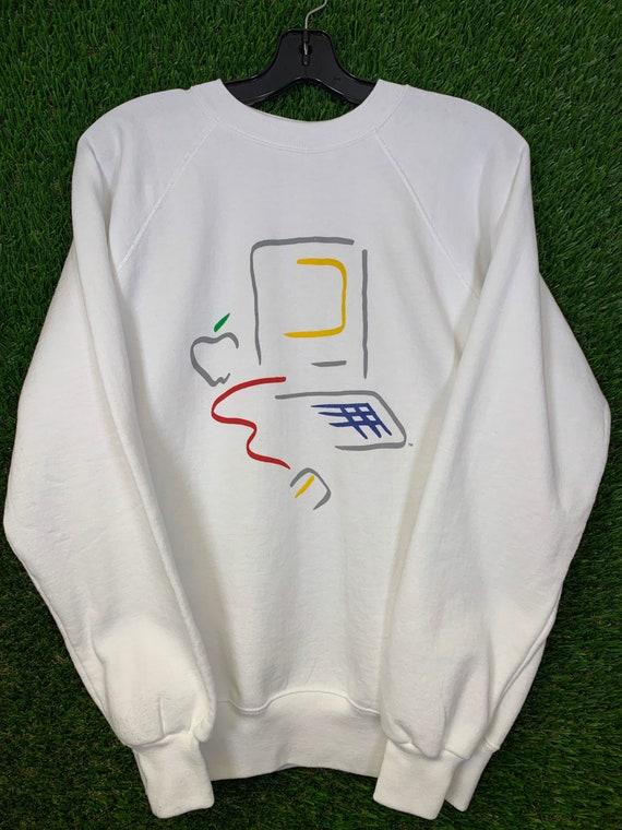 VINTAGE Picasso Apple Macintosh Sweater