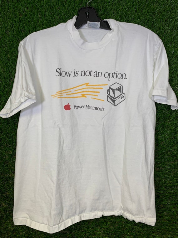 VINTAGE Apple Power Macintosh T Shirt
