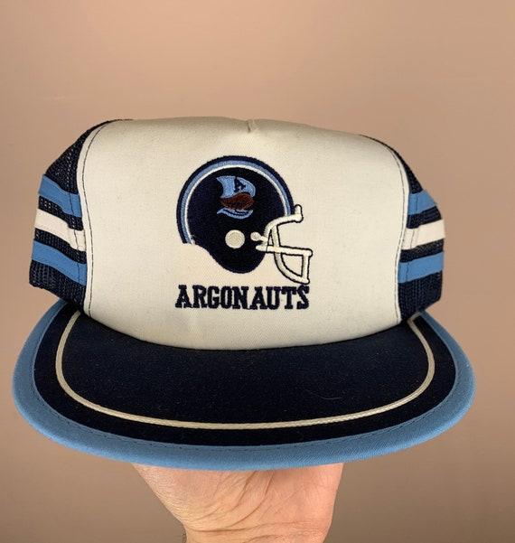 VINTAGE Argonauts 3 Stripe Mesh Snapback Hat