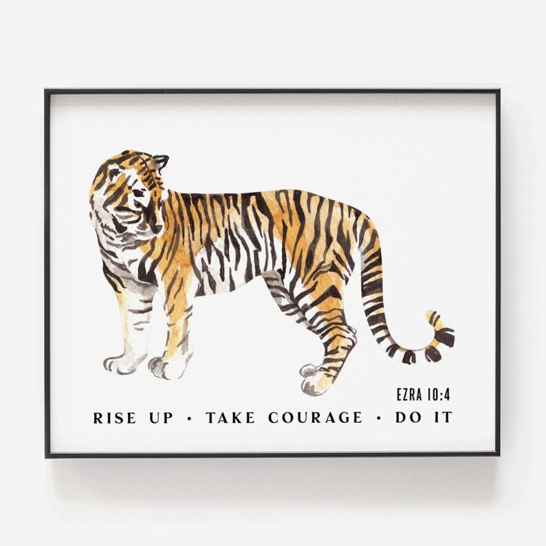 Ezra 10:4  Rise Up  Take Courage  Do It image 0