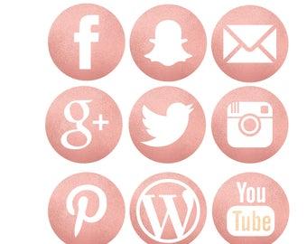 Social Media Icons Etsy