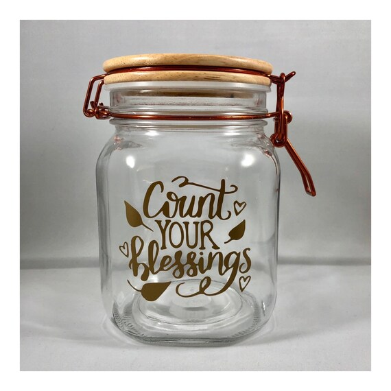 How To Make A Blessings Jar For Your Family To Use Throughout The Year Ministry Minded Mom