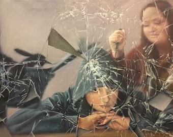 Paranoia Oil Painting