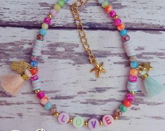 Summervibes ankle bracelet