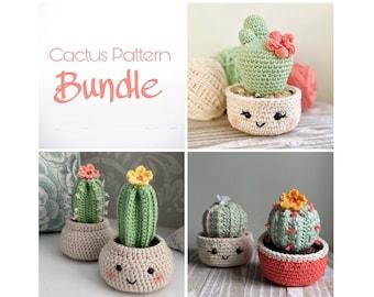 Cactus Pattern Bundle - Crochet Patterns