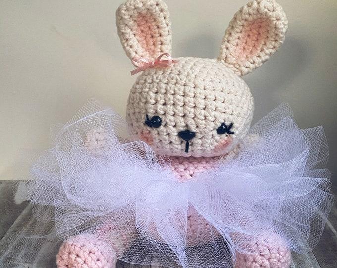 Ballerina Bunny Crochet Pattern