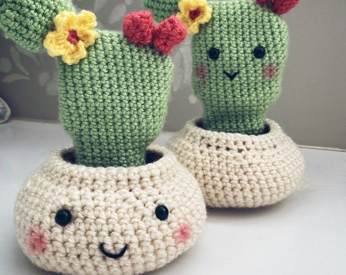 Prickly Pear Cactus Crochet Pattern